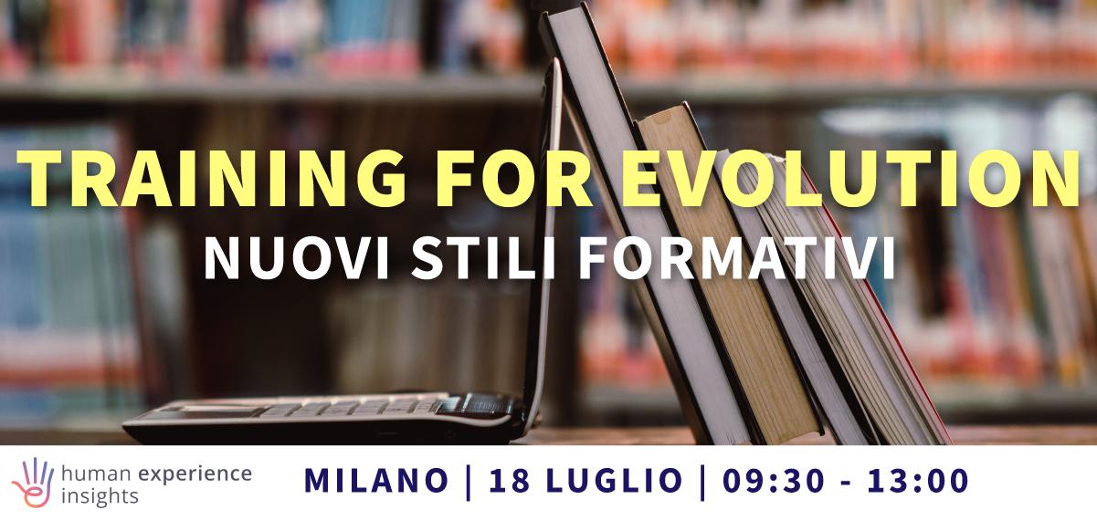 Training for evolution_formazione
