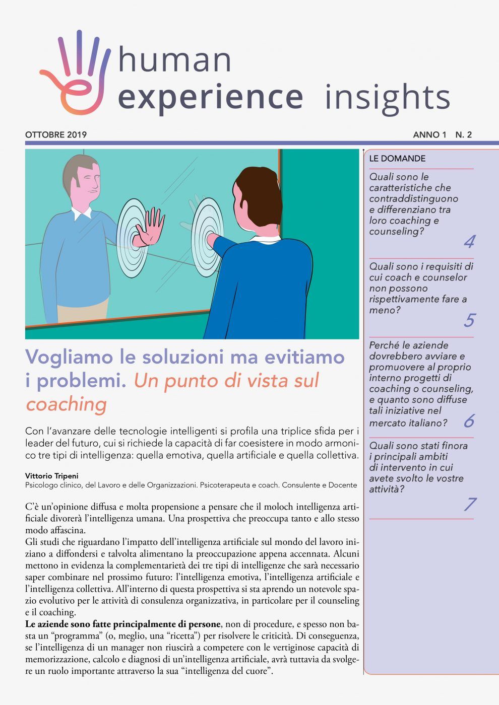 Speciale coaching e counseling